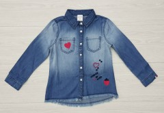 GENERIC Girls Shirt (BLUE) (3 to 10 Years)
