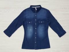 LEECOOPER Girls Shirt (BLUE) (11 to 16 Years)