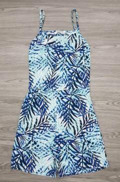 BASICS Ladies Jumpsuit (BLUE) (XXS - XS - S - M - L - XL - XXL)