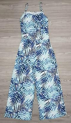 BASICS Ladies Romper (BLUE) (XXS - XS - S - M - L - XL - XXL)