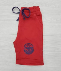 CRAZY 8 Boys Short (RED) (2 to 8 Years)