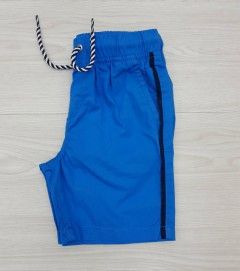 PIAZAITALIA Boys Short (BLUE) (3 to 12 Years)