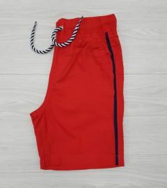 PIAZAITALIA Boys Short (RED) (3 to 12 Years)
