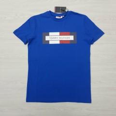 TOMMY HILFIGER Mens T-Shirt (BLUE) (S - M - L - XL)