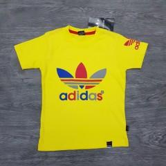 ADIDAS Boys T-Shirt (YELLOW) (2 to 12 Years)