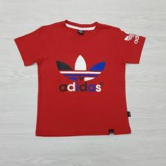 ADIDAS Boys T-Shirt (RED) (2 to 12 Years)