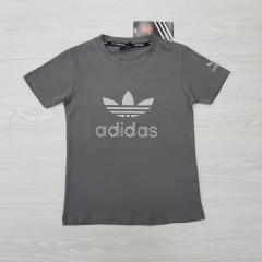 ADIDAS Boys T-Shirt (DARK GRAY) (4 to 14 Years)