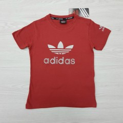 ADIDAS Boys T-Shirt (RED) (4 to 14 Years)