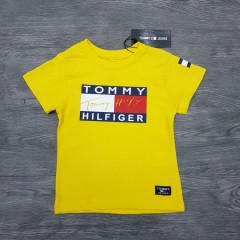 TOMMY HILFIGER Boys T-Shirt (YELLOW) (1 to 10 Years)