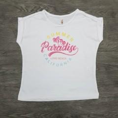 GENERIC Girls T- Shirt (WHITE) ( 3 - 12 Years)
