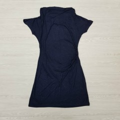 BLUE MOTION Ladies Dress (NAVY) ( S - M - L )