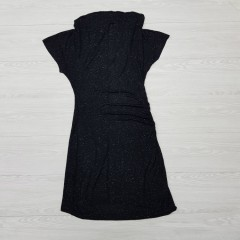 BLUE MOTION Ladies Dress (BLACK) ( S - M - L )