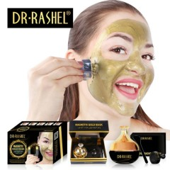 DR RASHEL New Design Gold Collagen Magnetic Mask deep cleaning Anti-Wrinkle Whitening mud Face mask(MOS)