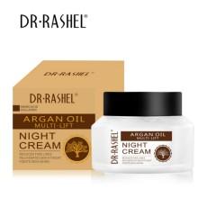 DR RASHEL Amino Acid Collagen Reduce Fine Lines Anti Wrinkle Whitening Cream Argan Oil Face Night Cream (MOS)