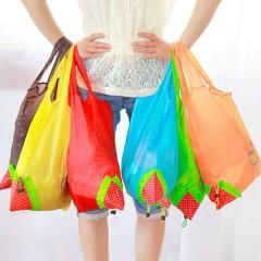 Strawberrry Shopping Bag (Random Color)(Long)