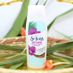 ST IVES st ives softening coconut & orchid body wash(MOS)