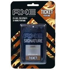 Axe Ticket Perfume Signature Dark Temptation 17ml (MA)