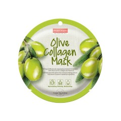PUREDERM olive Collagen Mask(18g)(MOS)