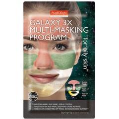 PUREDERM GALAXY 3X MULTI-MASKING PROGRAM for oily skin(MOS)