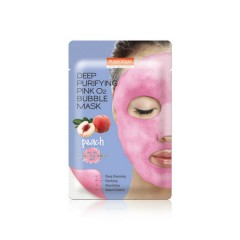 PUREDERM DEEP PURIFYING PINK O2 BUBBLE MASK(25g)(MOS)