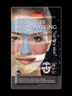 PUREDERM GALAXY 3X MULTI-MASKING PROGRAM for dry skin(MOS)