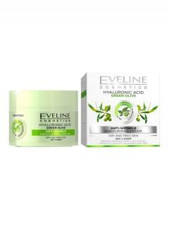 EVELINE eveline cosmetics hyaluronic acid green olive