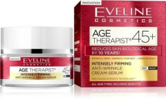 EVELINE AGE THERAPIST45+ INTENSELY FIRMING ANTI-WRINKLE CREAM-SERUM(MOS)
