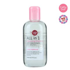 CATHY DOLL ALL IN 1 Cleansing Essence With Galactomyces(260ml)(MOS)