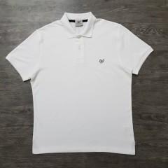 CAPORICCIO Mens Polo Shirt (WHITE) (M)