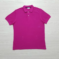 CAPORICCIO Mens Polo Shirt (PINK) (S - L - XL)