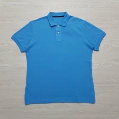 CAPORICCIO Mens Polo Shirt (BLUE) (L - XL)
