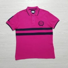 CAPORICCIO Mens Polo Shirt (PINK) (M - XL - XXL)
