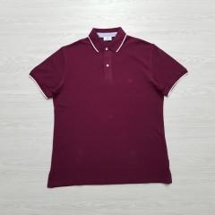 CAPORICCIO Mens Polo Shirt (MAROON) (M - L - XL)