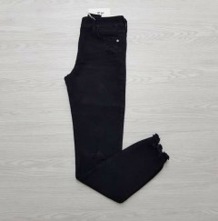 JOIN LIFE Ladies Jean ( BLACK ) ( 34 to 38 Size )