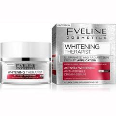 EVELINE COSMETICS  whitening therapist day & night cream-serum (MOS)