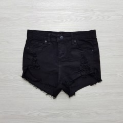 Ladies Turkey Short (BLACK) (XS - S - M - L)