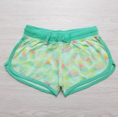 Y.F.K Girls Shorts (GREEN) ( 7 to 14 years)