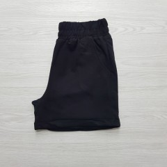 MELANI Ladies Turkey Short (BLACK) (S - M - L)