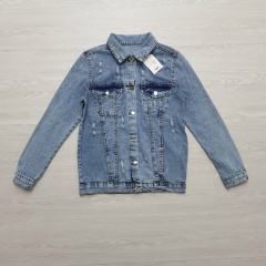 OREO JEANS Ladies Turkey Sweatshirt Jeans (BLUE) (S - M - L)