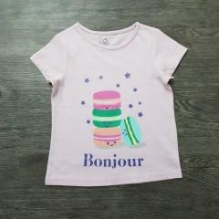 Girls T-Shirt (LIGHT PINK ) (2/3 to 15/16 Years)