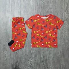 NEXT Boys 2 Pcs Pyjama Set ( ORANGE ) (2 to 8 Years)