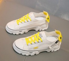 Ladies Sneakers ( WHITE - YELLOW ) (36 to 40)