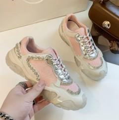 Ladies Sneakers ( PINK ) (36 to 40)