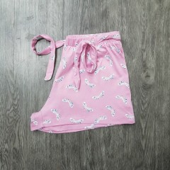 PEANUTS Ladies Short(PINK)(XXS -XS -  S - M - L - XL)