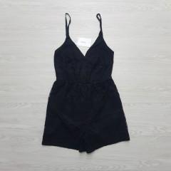 LEFTIES Ladies Romper (BLACK)( S - M- L)