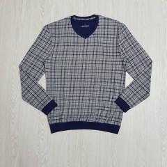 CANDA Mens Sleeved Shirt (GRAY) (S - M - L - X - XL - XXL - 3XL)