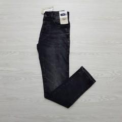 Mens Slim Fit Jeans (BLACK) (28 to 36)