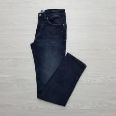SPRINGFIELD Mens Slim Fit Jeans (BLACK) (28 to 38)
