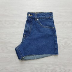 CALLIOPE Ladies Short Jeans (BLUE) (XS - S - M - L - XL)