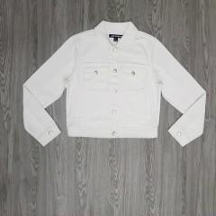 JOE FRESH Ladies Denim Jacket (WHITE) (S - M - XL)
